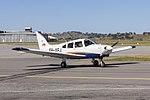 Australian Airline Pilot Academy (VH-XEJ) Piper PA-28-161 Cherokee Warrior III taxiing Wagga Wagga Airport.jpg