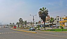 Avenida La Ribera de Huanchaco