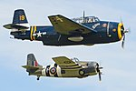 Avenger & Wildcat. 2016 Flying Legends (36118066325).jpg