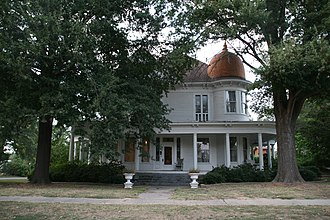 National Register of Historic Places listings in Conway County, Arkansas - Image: Aycock House