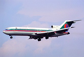 Boeing Commercial Airplanes - Image: Azerbaijan Airlines Boeing 727 235; 4K AZ2@FRA, July 1996 (5695398251)