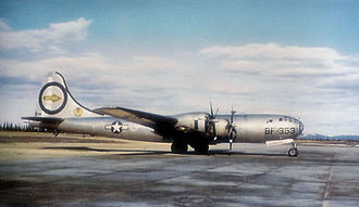 1950 Fairfield-Suisun Boeing B-29 crash - A similar B-29 Superfortress