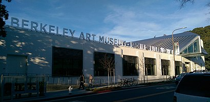 How to get to Berkeley Art Museum And Pacific Film Archive with public transit - About the place