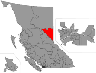Peace River South Provincial electoral district in British Columbia, Canada