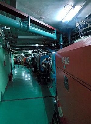 Beijing Electron–Positron Collider II - Image: BEPC隧道