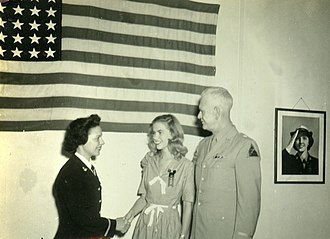 John L. Pierce - Image: BG John L. Pierce, his daughter, Isabel,WAVES