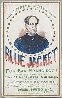 <i>Blue Jacket</i> (clipper)