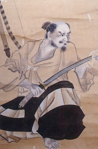 "Siege of Katsurayama - Baba Nobuharu, one of the ""Twenty-Four Generals of Takeda Shingen"" and commander of the besieging army"