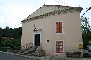 Babeau-Bouldoux - The town hall in Babeau-Bouldoux