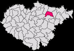 Vị trí của Băbeni