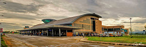 Silay - The Bacolod-Silay International Airport terminal building