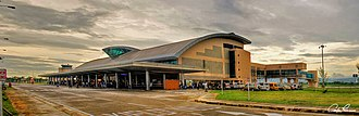 Bacolod–Silay Airport - The airport terminal building.