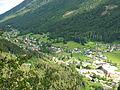 Bad Bleiberg Aufnahme von der Traininger Wand.jpg