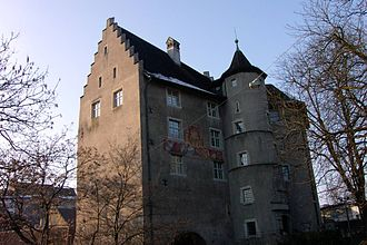 County of Baden - Governor's castle in Baden