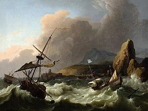 Bakhuizen Storm in the Sea.jpg