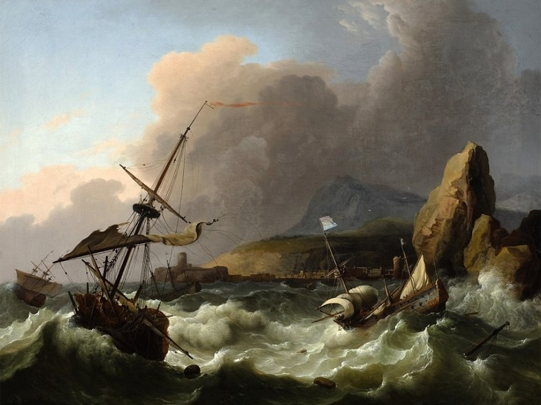 File:Bakhuizen Storm in the Sea.jpg
