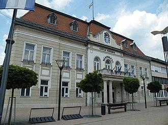 Balassagyarmat District - Image: Balassagyarmati városháza 5