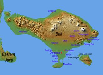 Nusa Penida - Bali and the island of Nusa Penida