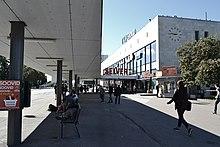 4b3e7be9bae Balti jaama peahoone trollipeatuste poolt (september 2016). Algselt  kavandati jaamahoone Lillekülla, kuid linnavalitsuse ...