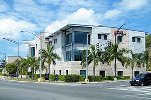 Popular, Inc. - The Banco Popular Virgin Islands regional office in Charlotte Amalie