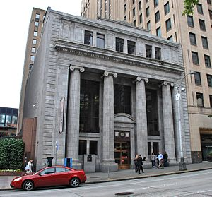 Bank of California Building (Seattle) - The Bank of California Building in 2014