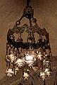 Bari, san nicola, interno, cripta, lampadario.jpg