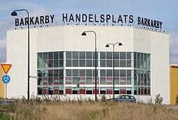 Barkarby handelsplads (2010).