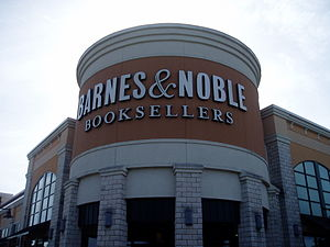 A typical Barnes & Noble Booksellers at Waterf...