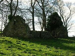 Barnweill Church - Image: Barnweill Church, ruins, Ayrshire