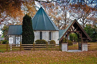 Barrhill, New Zealand - Image: Barrhill St John's Anglican Church