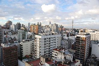 Barrio Norte, Buenos Aires - Partial view of the area informally referred to as Barrio Norte.