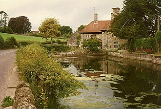 North Somerset - Image: Barrow Gurney millpond at Lower Barrow Mill geograph.org.uk 94265