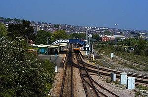 Barry railway station - Image: Barry railway station