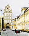 Bartoszyce, the Lidzbarska Gate (outside).jpg
