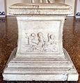 Base di statua detta ara grimani, con scene dionisiache, 20-1 ac ca. (retro di restauro) 01.jpg