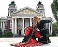 Bashkortostan couple at International Folklore Festival Vitosha.jpg