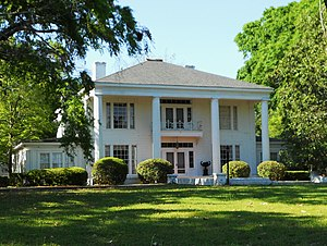 National Register of Historic Places listings in Russell County, Alabama - Image: Bass Perry House Seale AL