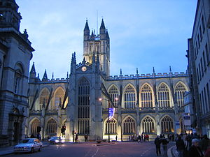 Oliver King - Bath Abbey at sunset
