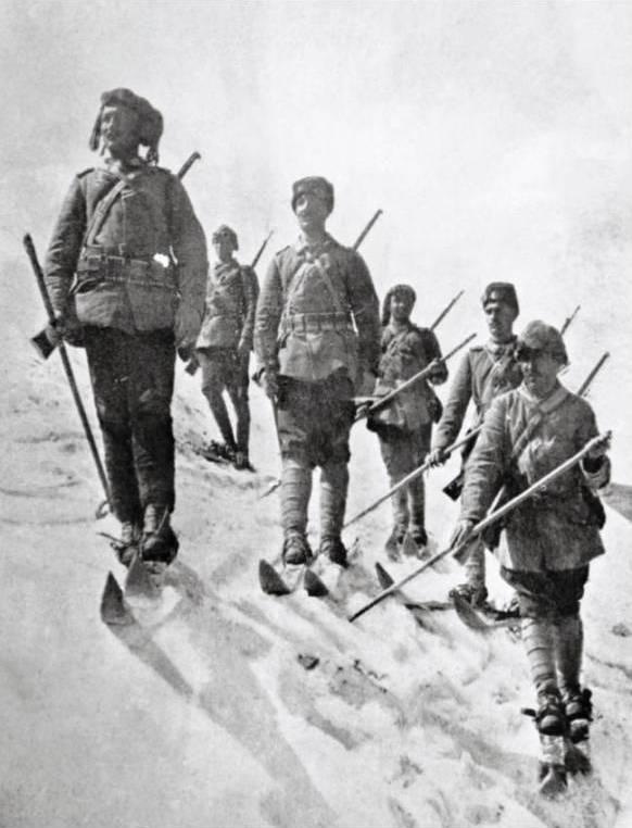 Battle Sarikamis winter gear