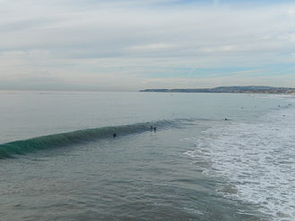 San Clemente, California - San Clemente beach view, December 17, 2013