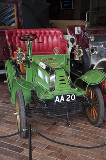 De Dion-Bouton model Q in het National Motor Museum