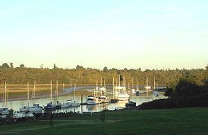 South Hampshire Coast - Beaulieu River in the South Hampshire Coast AONB