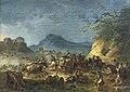 Beaux-Arts de Carcassonne - Choc de cavalerie (Campagne du Roussillon) 1793 - Jacques Gamelin - Joconde04400001331.jpg