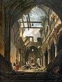 Beaux-Arts de Carcassonne - Ruines de l'intérieur de l'église des saints Innocents - Antoine Demachy Joconde04400001152.jpg