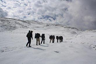 Roopkund - Trekking path to Roopkund, passing near Bedni Bugyal