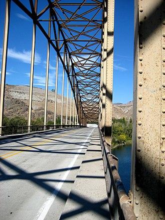 Beebe Bridge - Image: Beebe bridge deck