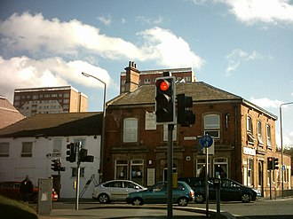 Beeston, Leeds - The Junction pub and Crescent Grange in Beeston Hill.