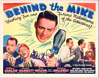 <i>Behind the Mike</i> (film) 1937 American comedy film directed by Sidney Salkow