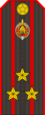 Belarus Police—04 Colonel rank insignia (Gunmetal).png