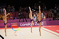 Belarus rhythmic gymnastics team 2012 Summer Olympics 17.jpg